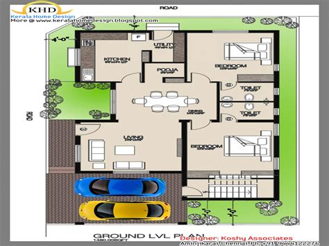 Single Floor House Plans by Indian Single House Floor Plan Simple Single Floor House