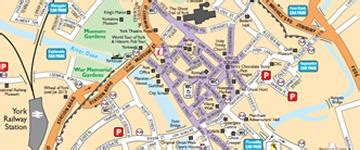 printable map york city centre visit york official tourist information