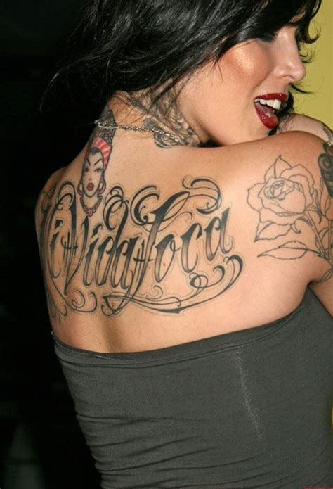 laraverse some pics of kat von d tattoos