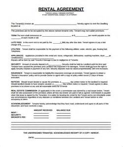 sample rental agreement template 10 documents in pdf