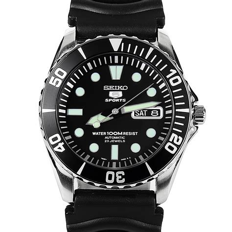 seiko dive watches seiko 5 snzf17k2 sports automatic mens diving snzf17