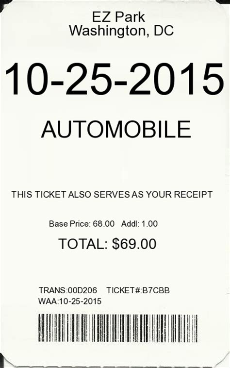 parking receipt template search results for receipts template calendar 2015