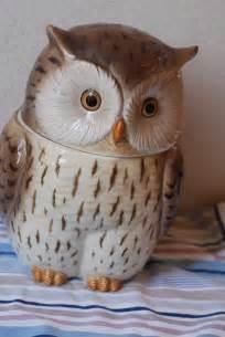 owl cookie jar kitchen pinterest