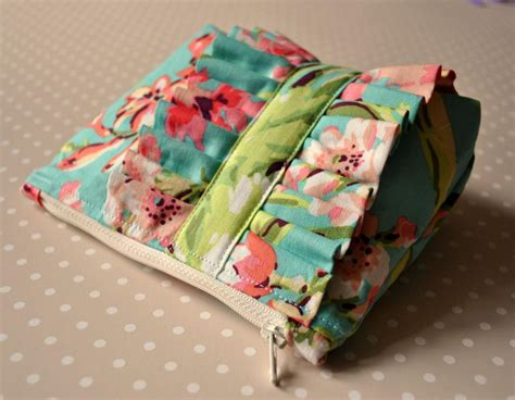 Handmade Bags Uk - make up bag tropical garden uk handmade cosmetics purse in