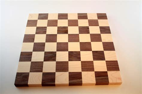 Handmade Chess Boards - handmade chess board wooden tabletop gameboard walnut and