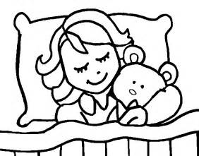 free coloring pages of sleepin bear