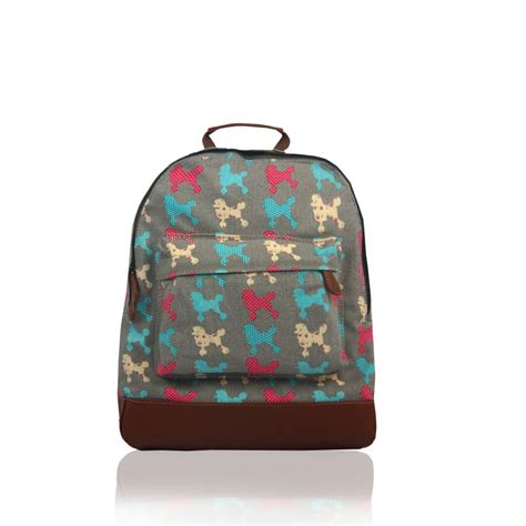 printed canvas backpack with pouch new everyday canvas printed backpack school college