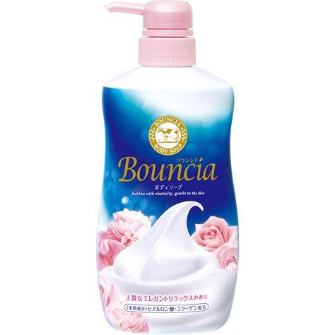 Cow Bouncia Soap 430ml バウンシアボディソープ エレガントリラックスの香り バウンシアボディソープ 牛乳石鹸共進社株式会社