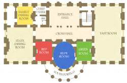 White House Floor Plan Living Quarters Executive Residence Wikipedia