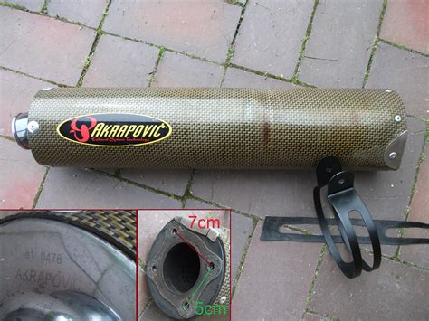 Motorrad Auspuff E Nummer by Akrapovic Suzuki Gsxr 600 750 1000 K5 Kawasaki Zx10r