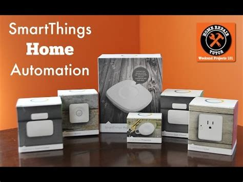 my smartthings home automation set up funnydog tv