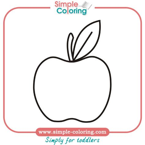 Easy Coloring Pages For Preschoolers simple coloring pages for toddlers simple coloring pages
