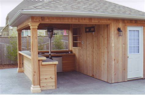 Shed Bar by Backyard Bar Shed Ideas