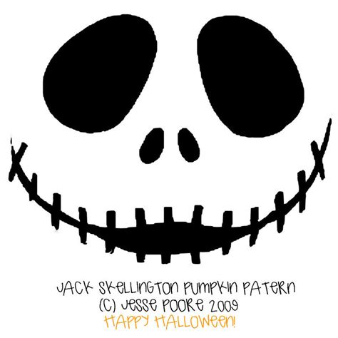 pumpkin carving templates skellington 15 great free printable pumpkin carving