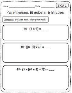 Common Math 5th Grade Worksheets by 1000 Images About Homeschool 5th Grade On