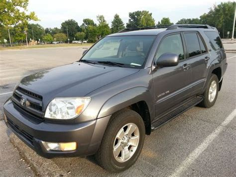 how to fix cars 2005 toyota 4runner auto manual find used 2005 toyota 4runner limited sport utility v6 4 door 4 0l 4wd third seat leather in