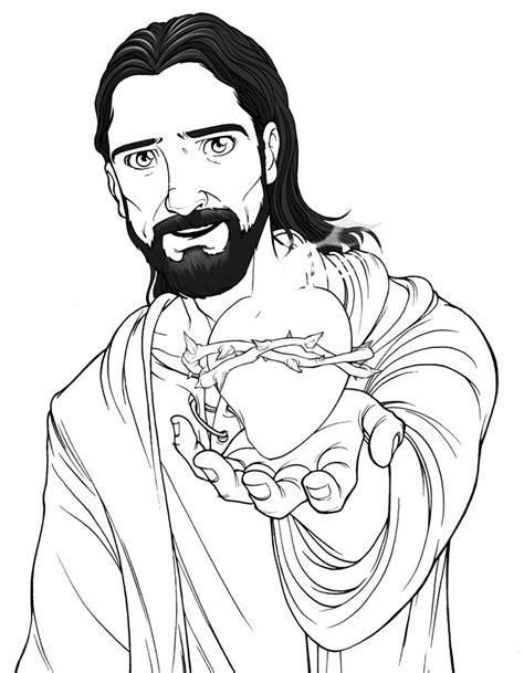 imagenes de la vida de jesus para pintar recursos pastorales sope 241 a dibujos del sagrado coraz 243 n de