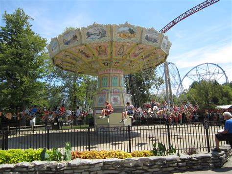 swing ride at cedar point thrill rides point place