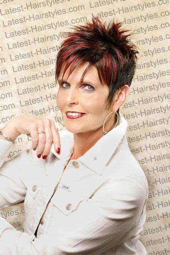 spikey razor cut hairstyles for women 1000 images about spike short hair on pinterest