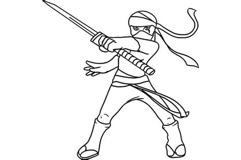 coloring page of ninja print download the attractive ninja coloring pages for