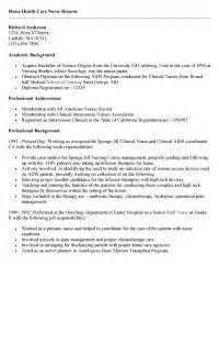Home Care Sle Resume by Health Care Aide Resume Objective Exles Bestsellerbookdb
