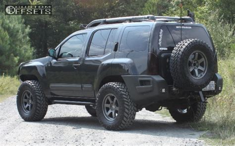 nissan xterra lift kit wheel offset 2011 nissan xterra aggressive 3 5