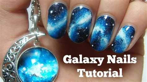 Nail By by Galaxy Nails Tutorial Nails By Kizzy