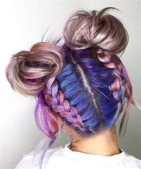 pretty hair color dyed hair 47 fashiotopia