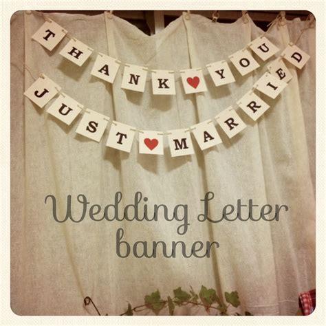 Wedding Banner Diy by Wedding Banner Diy Wedding