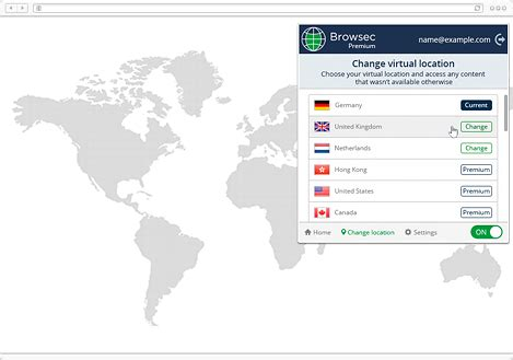 browsec crx browsec vpn for chrome firefox and opera extension free