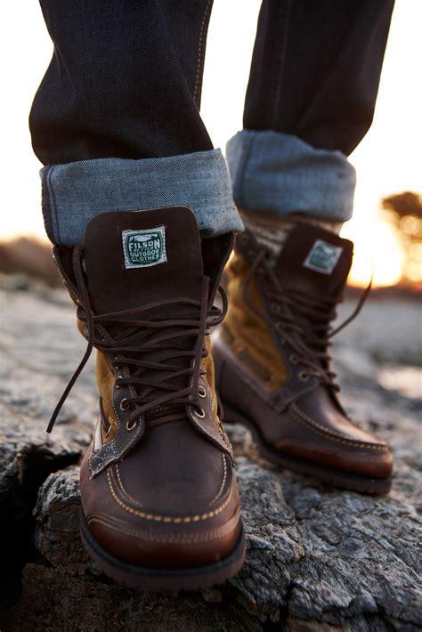 mens outdoor boots c store sebago x filson collection