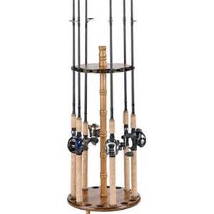 Fishing Pole Rack by Fishing Rod Holder Rack Floor Free Standing Pole