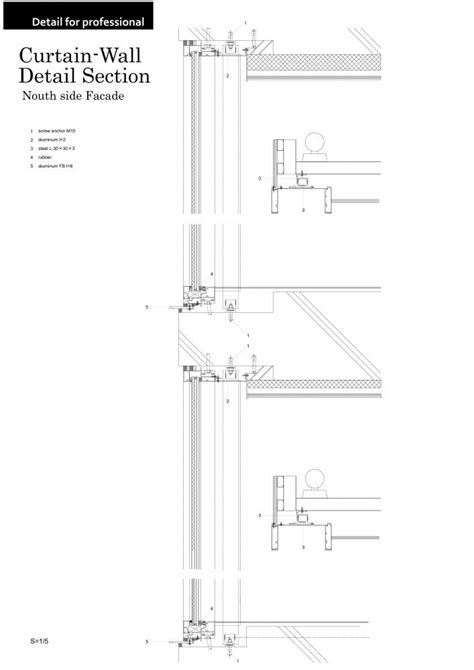 window wall section curtain wall detail bing images detail 2 pinterest