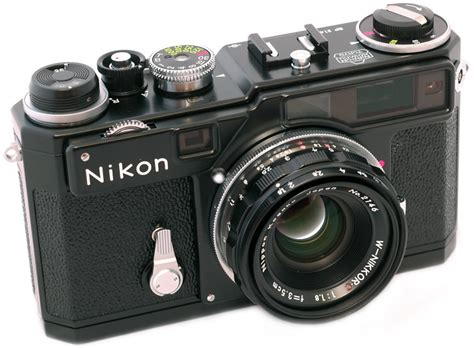 nikon rangefinder sp black 2005