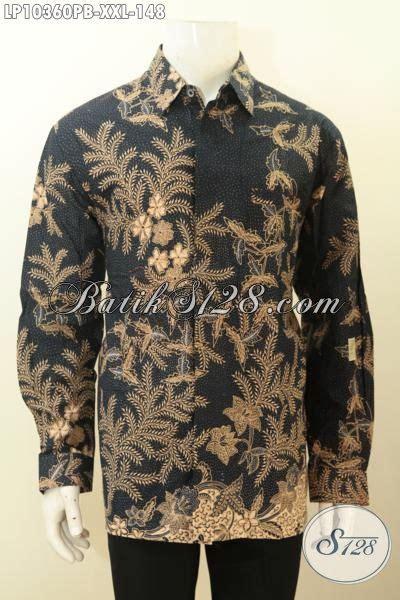 Baju Jumbo Pria model baju batik pria elegan lengan panjang jumbo busana