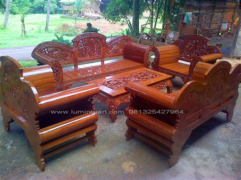 Kursi Tamu Jati Madura kursi tamu madura putri kayu jati ukiran jepara set ud