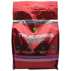Bsn Truemass 1200 2 Lbs Bsn True Mass 1200 2 Lbs true mass 1200 strawberry 10 25 lbs 61 87ea from bsn inc