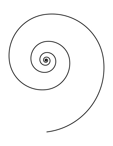 spiral clipart etc