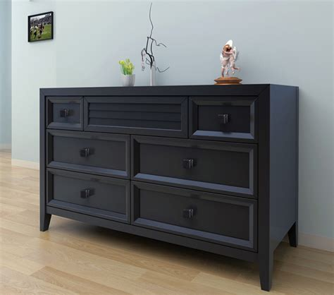 Black Bedroom Dressers Dreamfurniture Broadway Dresser Black