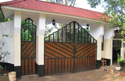 25 front gate designs welcome your guest with