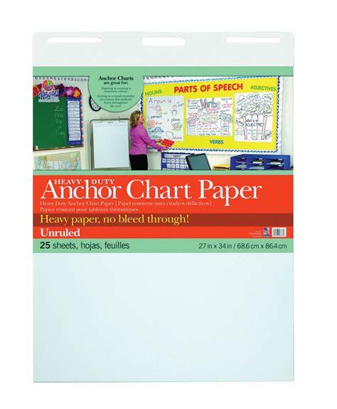 Folding Chart Paper - tables folding 1495762 pacon plain anchor chart paper