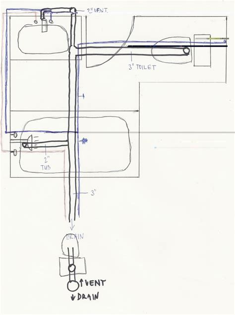 Plumbing Layout For Bathroom by Bathroom Plumbing 28 Images How To Plumb A Basement