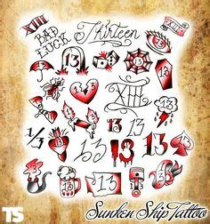 number of tattoo parlors in us 1000 ideas about number 13 tattoos on pinterest 13