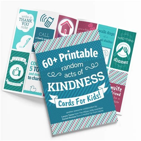 printable cards for kids 65 printable random acts of kindness cards for kids