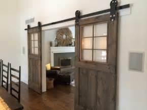Barn Doors For Windows Vintage Custom Sliding Barn Door With Windows Price Is For