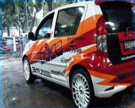 Lu Avanza Modifikasi foto modifikasi mobil xenia putih li silver all new 2004