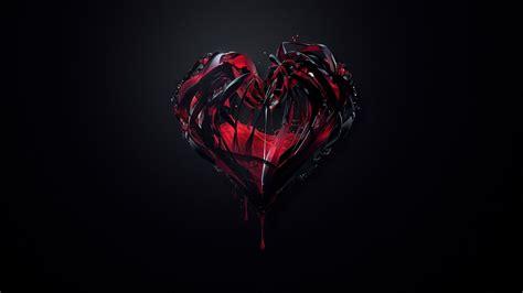 imagenes de corazones oscuros coraz 243 n oscuro para fondo de pantalla