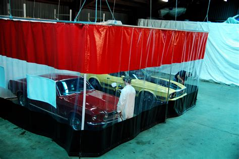 Auto Body Curtain Walls Automotive Garage Dividers