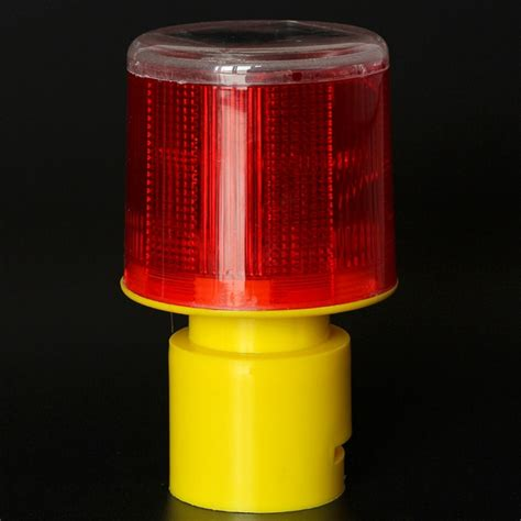 Solar Powered Beacon Light Solar Powered Traffic Warning Light Led Safety Signal