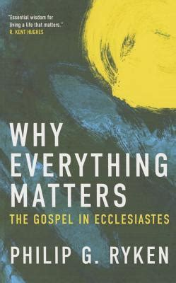 show me a story why picture books matter why everything matters the gospel in ecclesiastes by